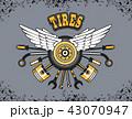 タイヤ 器具 道具のイラスト 43070947