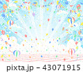 バルーン 空 背景のイラスト 43071915