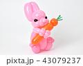 バルーンアートのウサギ 43079237