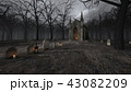 教会とお墓 43082209