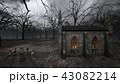 教会とお墓 43082214