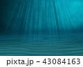 水中 海 海原のイラスト 43084163