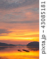 朝焼け 瀬戸内 瀬戸内海の写真 43085181