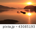 夜明け 瀬戸内 瀬戸内海の写真 43085193