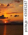 瀬戸内海 日の出 瀬戸内の写真 43085287