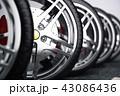 タイヤ 立体 3Dのイラスト 43086436