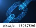 チェーン 鎖 鎖状のイラスト 43087596