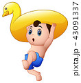 少年 マンガ 漫画のイラスト 43091337