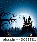 ハロウィン 城 城郭のイラスト 43093581