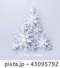 クリスマス 樹木 樹のイラスト 43095792