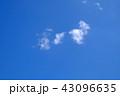 空 青空 雲の写真 43096635