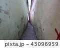旧市街にある狭い路地 ブラショフ ルーマニア ヨーロッパ 43096959