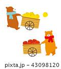 秋 収穫 リンゴのイラスト 43098120