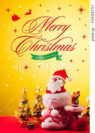 クリスマスカード 43098257