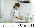 主婦 キッチン 調理の写真 43101444