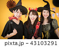 ハロウィン コスプレ パーティー 女子会 魔女 43103291