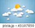 快晴 日光 日向のイラスト 43107850