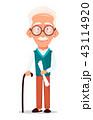 おじいさん お爺さん 年上のイラスト 43114920