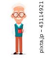 おじいさん お爺さん 年上のイラスト 43114921