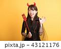 ハロウィン コスプレ パーティー 女子会 デビル 43121176