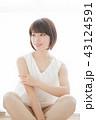 女性 人物 ヘアスタイルの写真 43124591