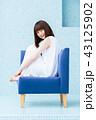 女性 美容 椅子の写真 43125902