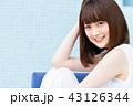 若い 女性 人物の写真 43126344