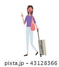 ベクター 女性 白バックのイラスト 43128366