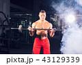 フィットネス スポーツジム ボディービルダーの写真 43129339