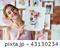 画家 絵描き 画伯の写真 43130234