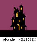 ハロウィン 不気味 館のイラスト 43130688