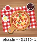 クッキング 料理 調理のイラスト 43133041