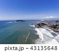 ドローン空撮・鎌倉・七里ヶ浜・江の島・富士山 43135648