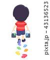 子供 少年 男の子のイラスト 43136523