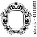 フレーム 鏡 バックグラウンドのイラスト 43138655