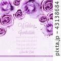 お花 フラワー 花のイラスト 43138684