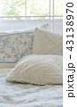 ベッド 白い 白の写真 43138970