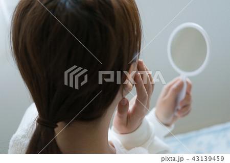 女性ポートレート 43139459
