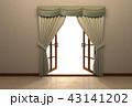 光 開く 窓のイラスト 43141202