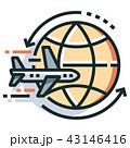旅行 地球 世界のイラスト 43146416