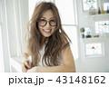 女性 ヘアスタイル 女の子の写真 43148162