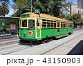 路面電車 メルボルン 電車の写真 43150903