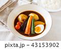 スープカレー 食べ物 カレーの写真 43153902