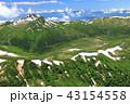 山岳 雲ノ平 黒部五郎岳の写真 43154558