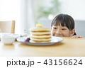 女の子 パンケーキ 43156624