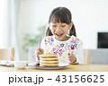 女の子 パンケーキ 43156625