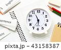 英語 教育 時計の写真 43158387