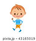 子供 男の子 ベクターのイラスト 43165019