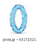 アイス 氷 数字のイラスト 43172321