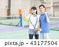 テニス 43177504